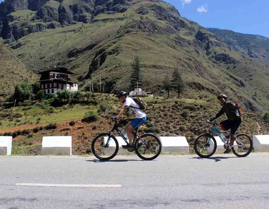 Mountain biking and motor-cycling